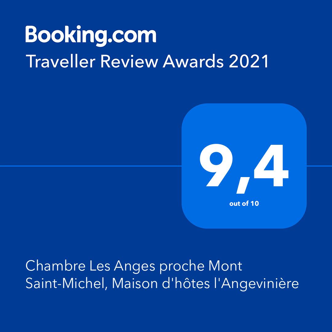 Booking award chambre 2021