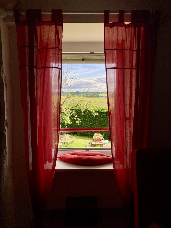La vue de la chambre Aux Anges