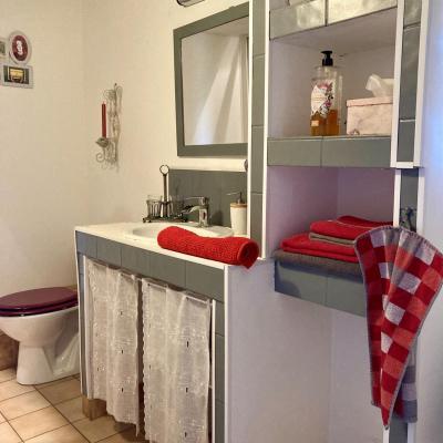 Cabinet de toilette privatif dans la chambre