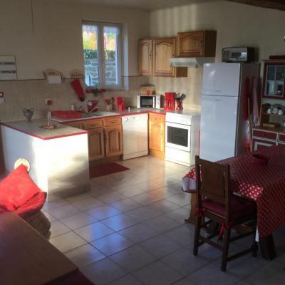 Spacieux et lumineux gîte Hortensias proche Mont St-Michel (1 à 6 nuits)