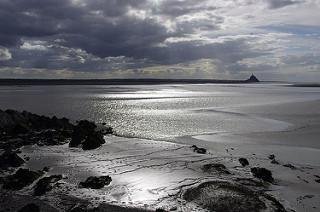 Baie avec sa Merveille, le Mont Saint-Michel