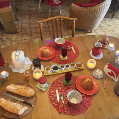 petit-dejeuner bio maison et local langeviniere manche