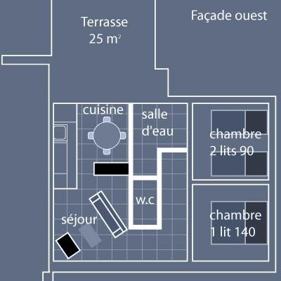 Charmant gîte Coquelicots proche Mont St-Michel, à la semaine